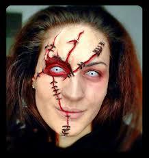Idée maquillage Halloween Terreur