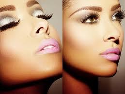 Inspiration maquillage peau noire argent