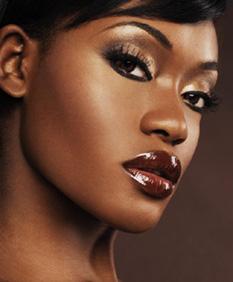inspiration maquillage peau noire