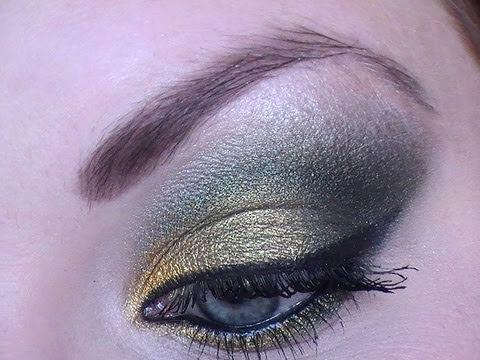 Inspiration maquillage vert