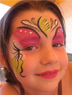 maquillage princesse rose et jaune maquillage princesse sur maquillage. Black Bedroom Furniture Sets. Home Design Ideas