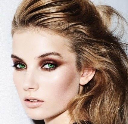 maquillage regard en bronze maquillage yeux verts sur maquillage. Black Bedroom Furniture Sets. Home Design Ideas